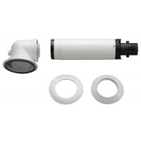 Bosch AZB 916 Ø60/100 L=900-1200 мм + колено 90°