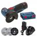 Аккумуляторная Угловая Шлифмашина Bosch GWS 10,8-76 V-EC (06019F2002)-отзывы