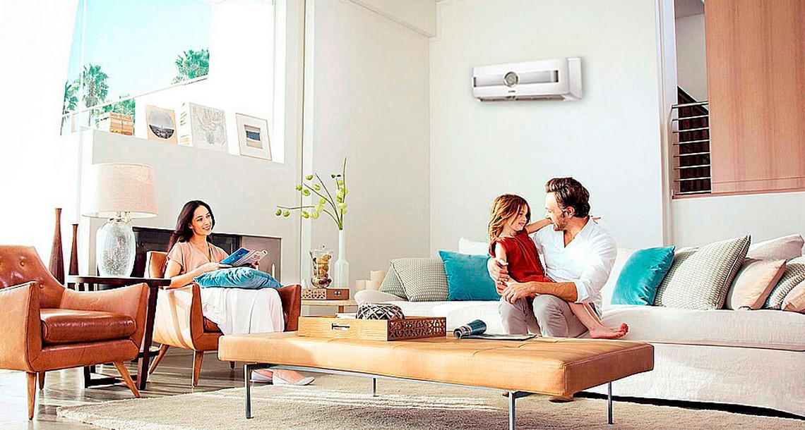 Семья использует Bosch Climate 8500 RAC 2,6-3 IPW / Climate RAC 2,6-1 OU P